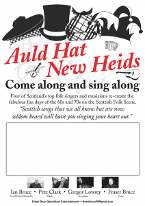 Auld Hat - New Heids @ The Salmon Bothy | Portsoy | Scotland | United Kingdom